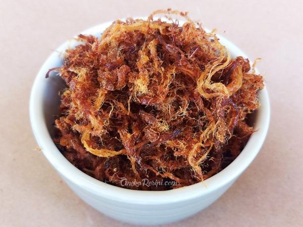 serunding daging kg laut kelantan tahan lama azlita azie kitchen