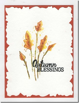 AUTUMN BLESSINGS CAS