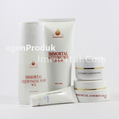 PAKET GLOWING IMMORTAL KOSMETIK