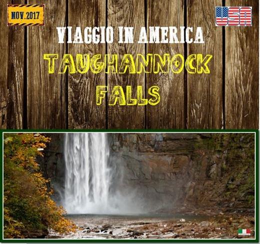 TAUGHANNOCK FALL