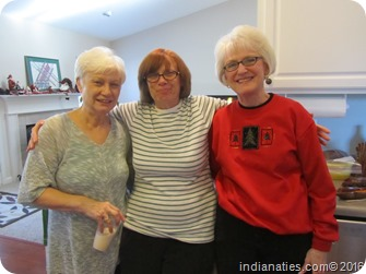 Niehaus Christmas, 2015: Sisters, Nancy Hurley, Linda May, Marti  Fleetwood