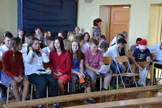 Uroczyste rozpoczęcie roku szkolnego 2016/2017 w Gimnazjum - 01.09.2016