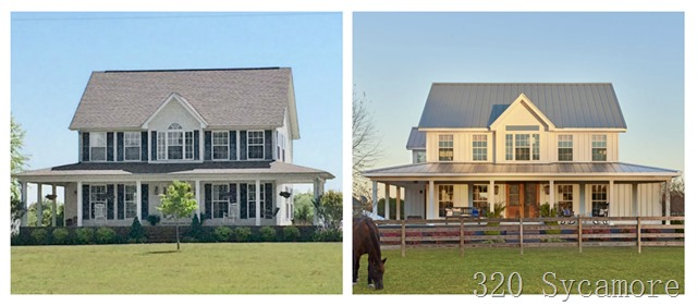 country living before and after