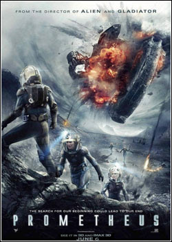 Filme Poster Prometheus TS XviD & RMVB Legendado