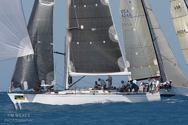 J/44 White Gold sailed by Jim Bishop at Key West