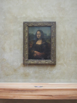 The Mona Lisa, Photo taken on April 5, 2012