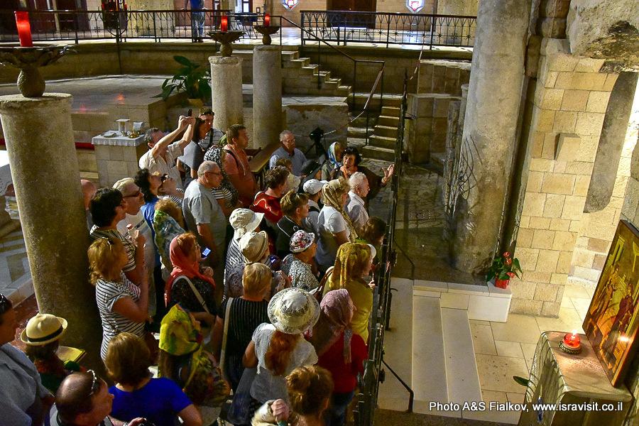 Базилика Благовещения. Дом Святого Семейства. Экскурсия в Галилее Светланы Фиалковой.