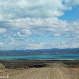 Lago Viedma, chegando a El Chaltén, Argentina