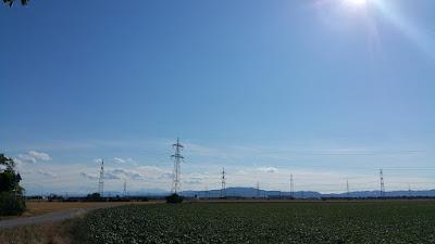 schöner Ausblick über den Wienerwald bis hin zum Schneeberg