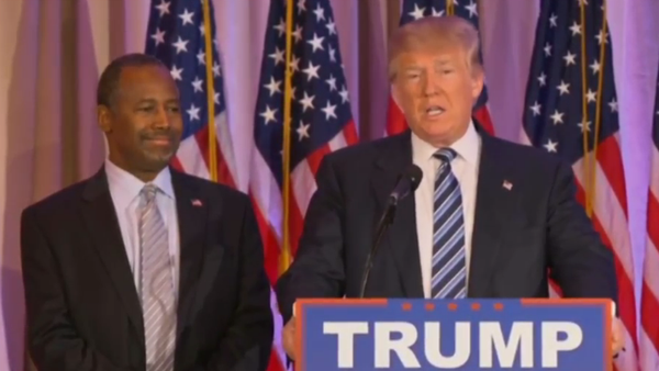 Carson to soften up Trump's former GOP rivals