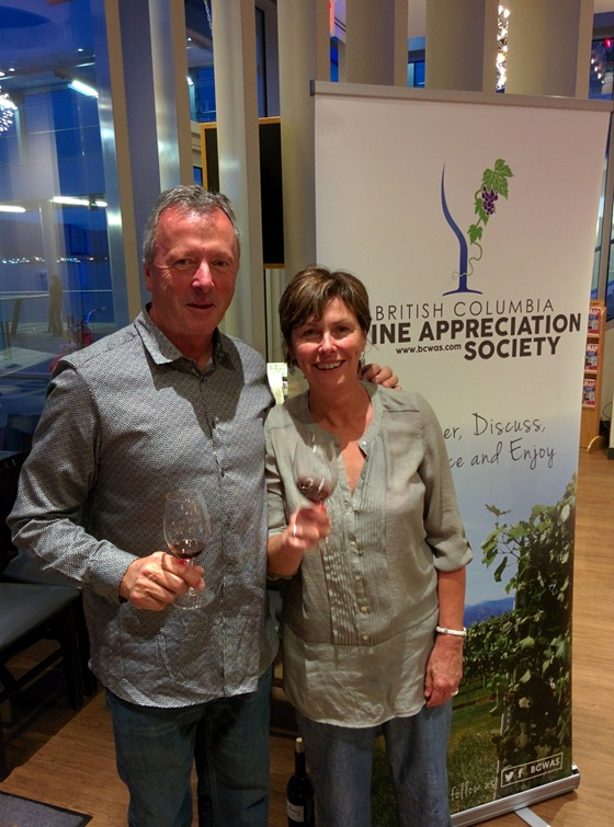 Jeff and Niva Martin join a vertical tasting rare even for them!