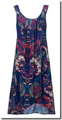Desigual blue double layer dress