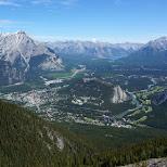 Sulphur Mountain in Banff, Alberta in Calgary, Alberta, Canada