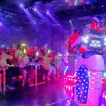 robot wars at the Robot Restaurant in Kabukicho in Kabukicho, Tokyo, Japan