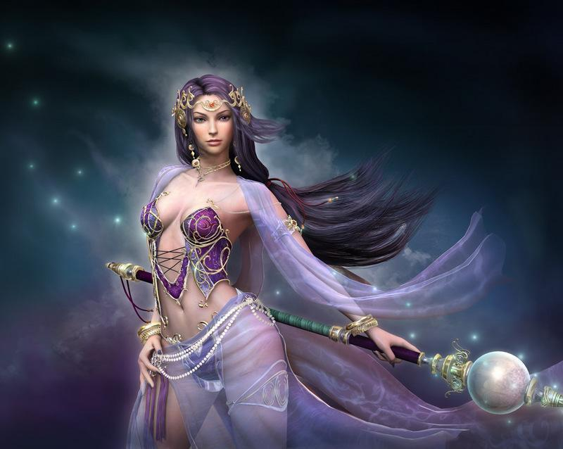 The Moon Goddess, Gods And Goddesses 1