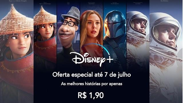 Disney Plus lança promoção de férias e assinatura sai por apenas R$ 1,90