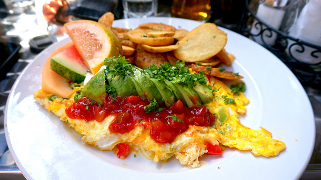 magical breakfast at Eggspectation near Nathan Phillips Square in Toronto in Toronto, Ontario, Canada