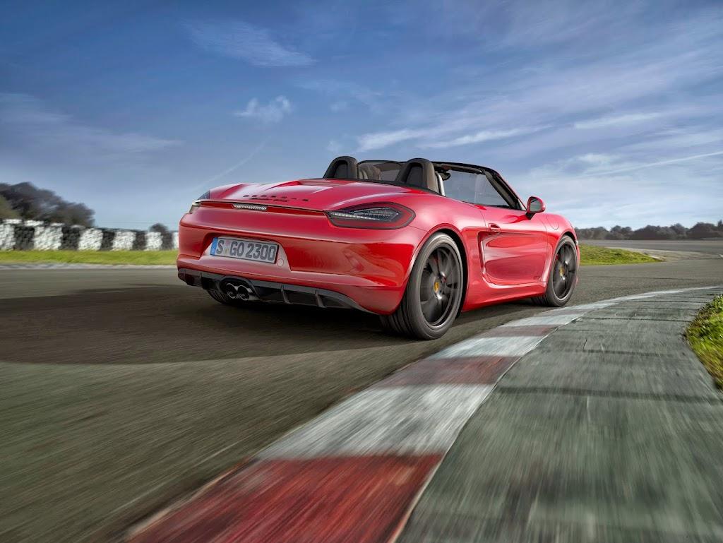 Porsche Boxster GTS 5