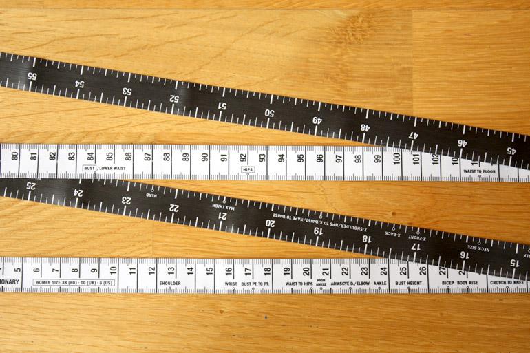 fashionary tape measure