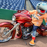 Motorcycle Day with the Clearwater Threshers