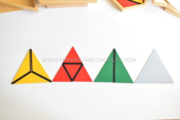 Triangular Box Contents