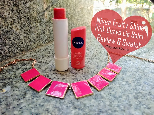 Nivea Fruity Shine Pink Guava Lip Balm Review
