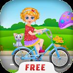 Sana Bicycle Ride - Girl Games Icon