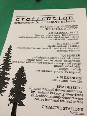 craftcation, pollyannacowgirl, polly conway, craft conference, ventura, firefly express