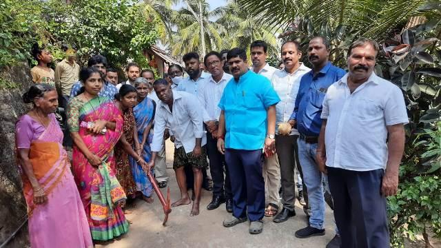 MLA Vedavyas Kamath | ಮಂಗಳೂರು: ಶಿವಭಾಗ್ನಲ್ಲಿ ಅಭಿವೃದ್ಧಿ ಕಾಮಗಾರಿಗೆ ಶಾಸಕ ಕಾಮತ್ ಗುದ್ದಲಿಪೂಜೆ