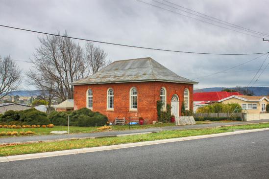 Old Wesleyan Chapel, c. 1846, King Street, Campbell Town, Tasmania