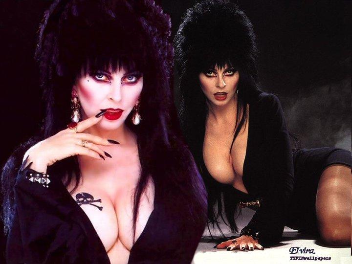 Sexy Wicked Girl Elvira, Wicca Girls