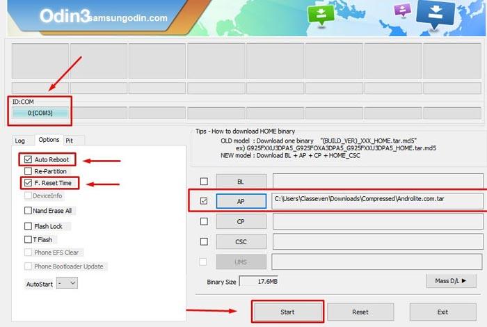 Free Download Samsung ODIN v3.14.4 Latest Version