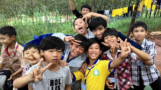 Chùm ảnh Khóa tu mùa hè lần thứ 6 năm 2015 tại Chùa Hoa Khai