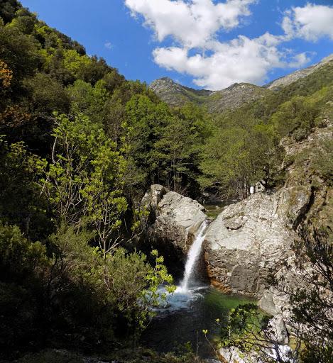 La cascade d'Acqua Acelli