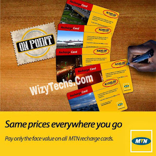 MTN Recharge cards