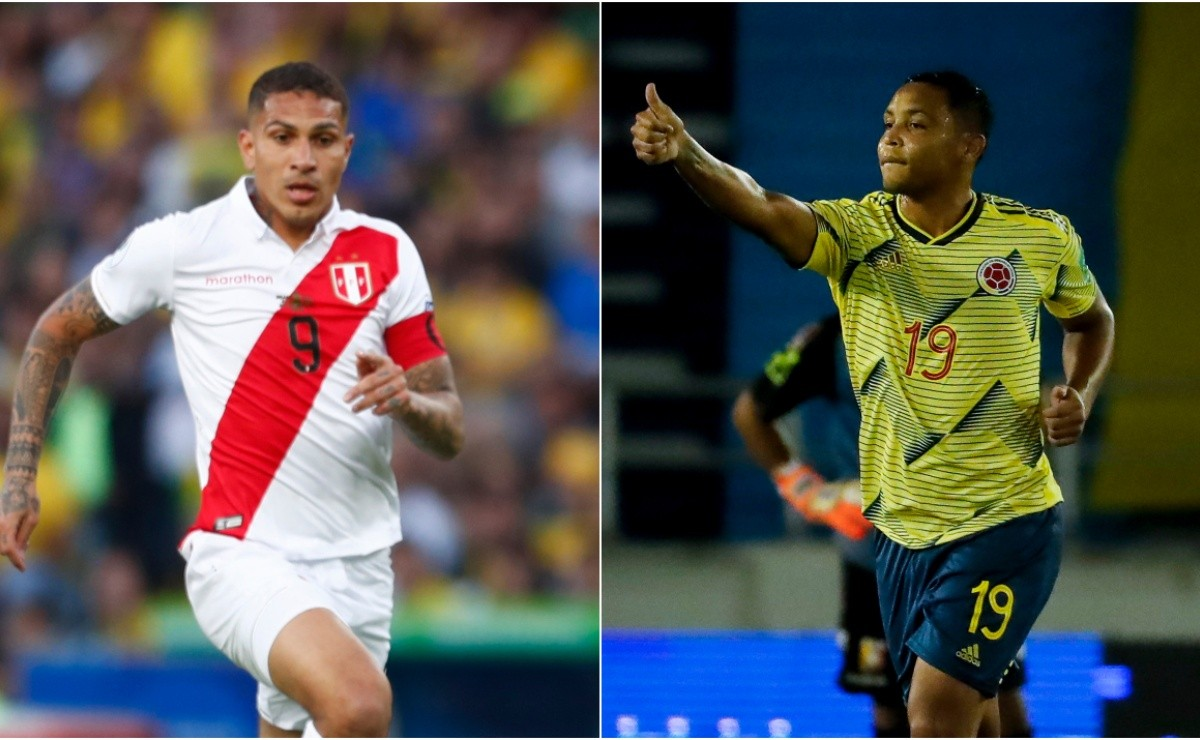 Peru vs Colombia where to watch Live South America World Cup Qualifiers  2021