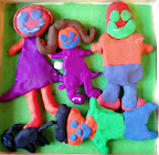 Family in Clay by Cate