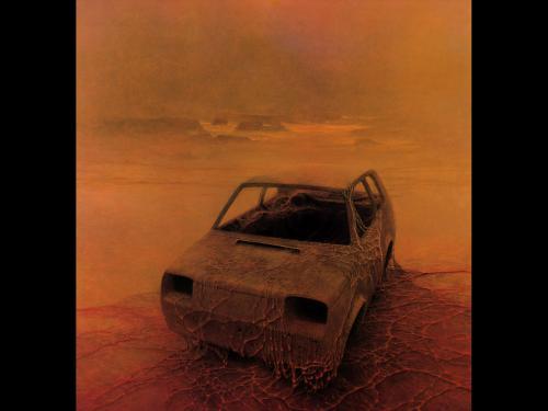 Zdzislaw Beksinski Monster Car, Death