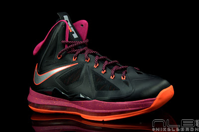 lebron10 floridians 32 web black The Showcase: Nike LeBron X Miami Floridians Throwback