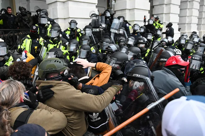 Over 535 people charged over US Capitol riot as FBI hunts more suspects 6 months later