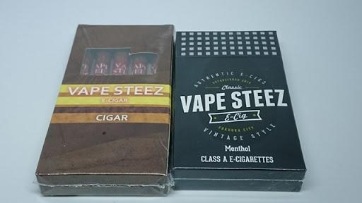 DSC 3376 thumb3 - 【電子タバコ】VAPE STEEZオリジナル小型「使い捨て電子タバコ」「使い捨て電子葉巻」レビュー。おしゃれな外観とコンパクトなボディ【電子タバコ/IQOS/スターターキット】