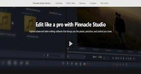 PINNACLE STUDIO VIDEO EDITING SOFTWARE