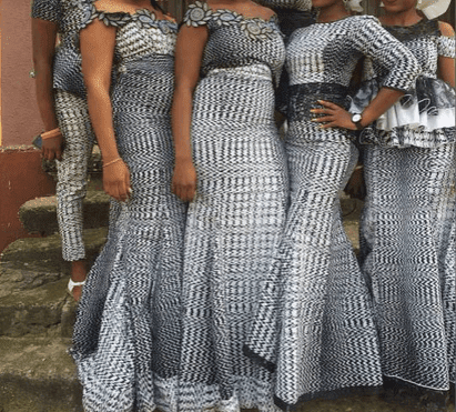 2017 nigerian lace styles dresses