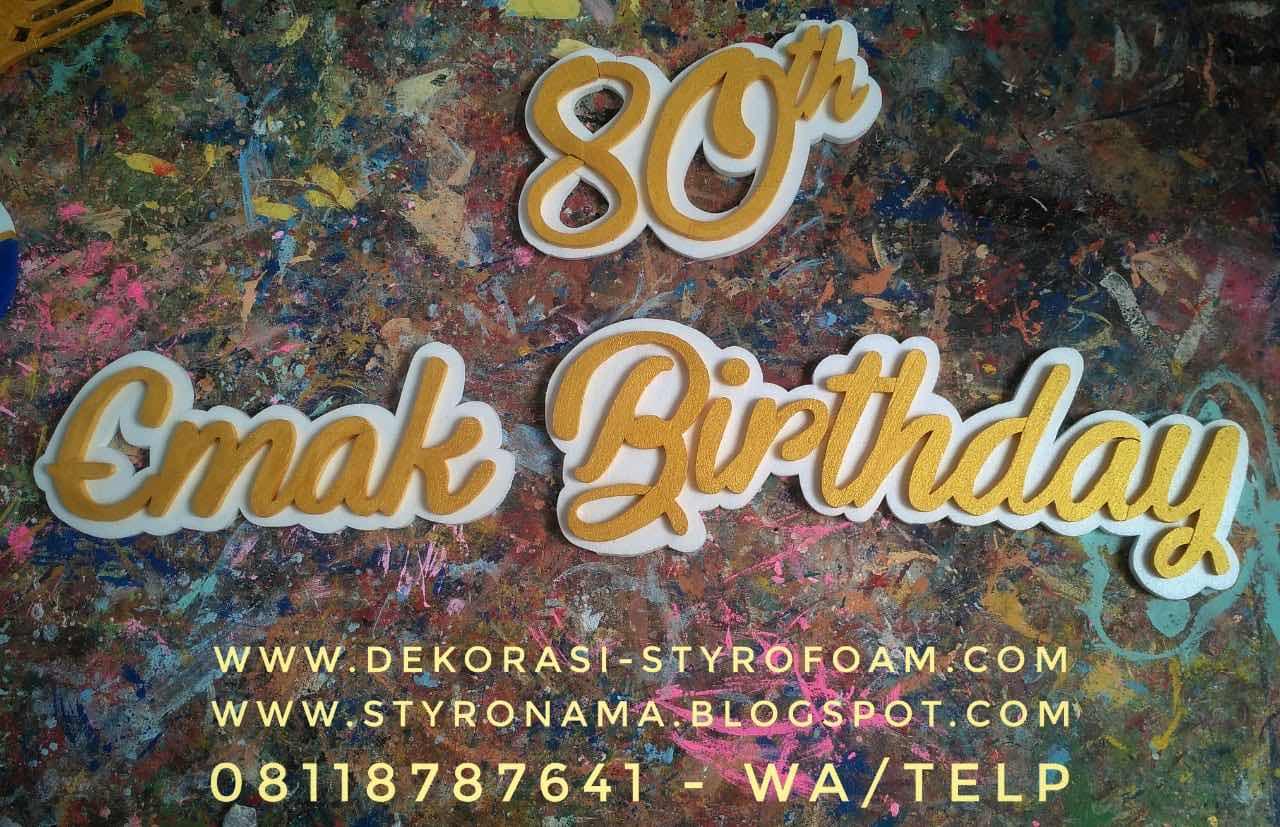 dekorasi ulang tahun dewasa