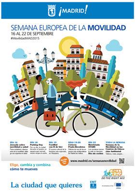 Programación de la Semana Europea de la Movilidad 2015