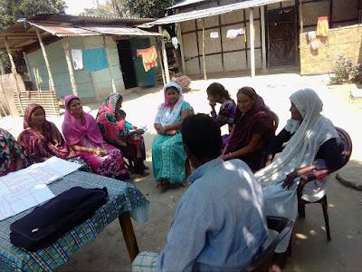 Second self assessment at Hirajani, Kamrup