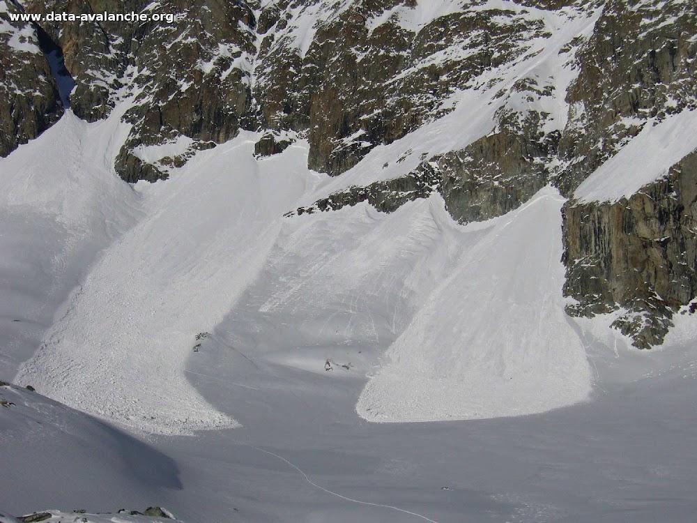 Avalanche Oisans, secteur Roche Faurio, Face Ouest pointe 3550 (Bonne Pierre) - Photo 1