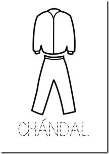 CHANDAL ropa dibujos colorear pintaryjugar  (4)