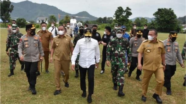 Antisipasi Lonjakan Pasien Covid-19, Pangdam I/BB Kunjungi RSUD FL Tobing Sibolga