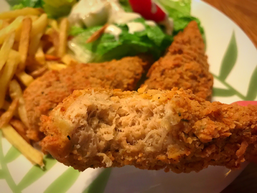 The Best Vegan Fried Chick'un Ever